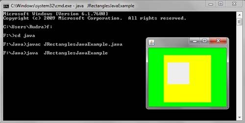 Draw Rectangles in Java Swing Example